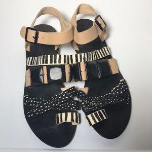 Loeffler Randall sandals designer shoes Womens 7.5
